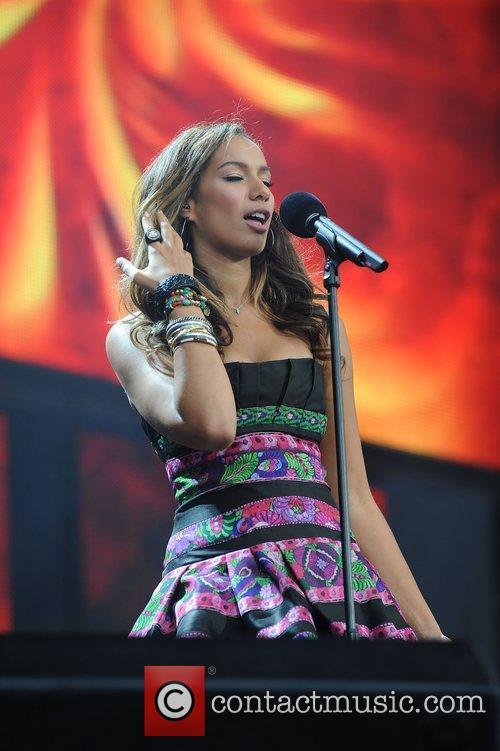 Leona Lewis and Nelson Mandela 3
