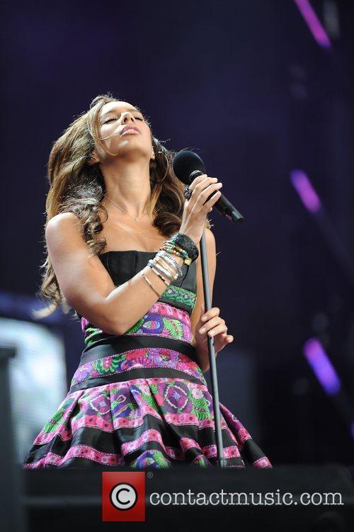 Leona Lewis and Nelson Mandela 9