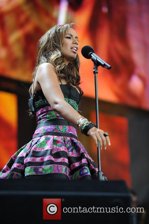 Leona Lewis and Nelson Mandela 2