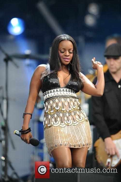 Keisha Buchanan and Nelson Mandela 3