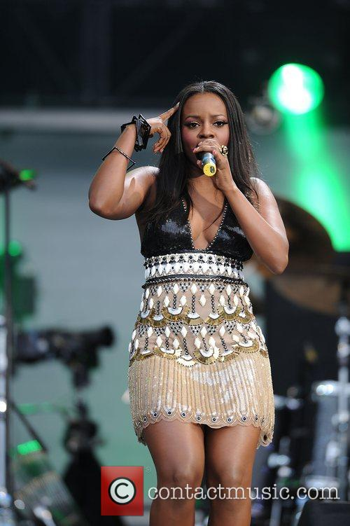 Keisha Buchanan and Nelson Mandela 2