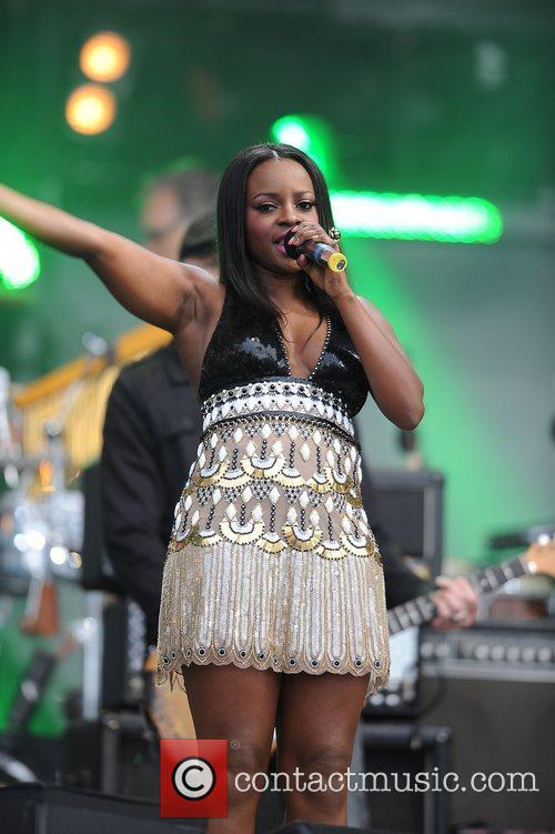 Keisha Buchanan and Nelson Mandela 6