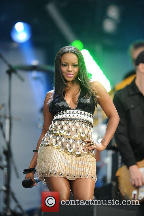 Keisha Buchanan and Nelson Mandela 1