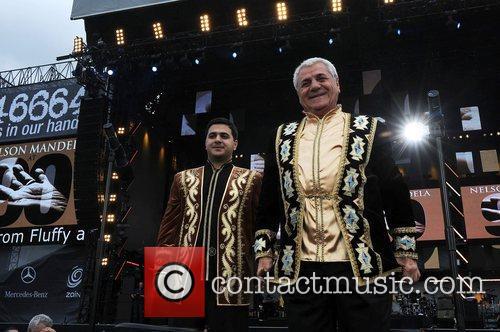 Jivan Gasparyan and Nelson Mandela 1