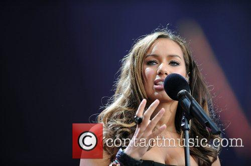 Leona Lewis and Nelson Mandela 1