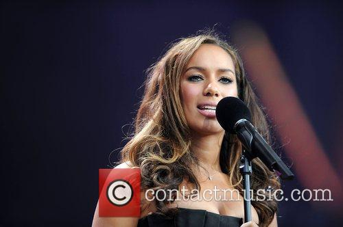 Leona Lewis and Nelson Mandela 17