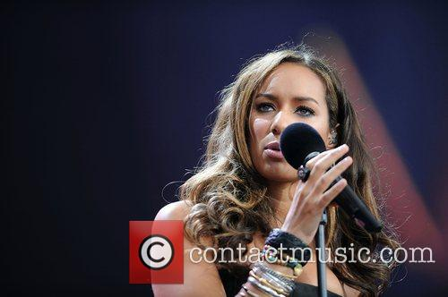 Leona Lewis and Nelson Mandela 2