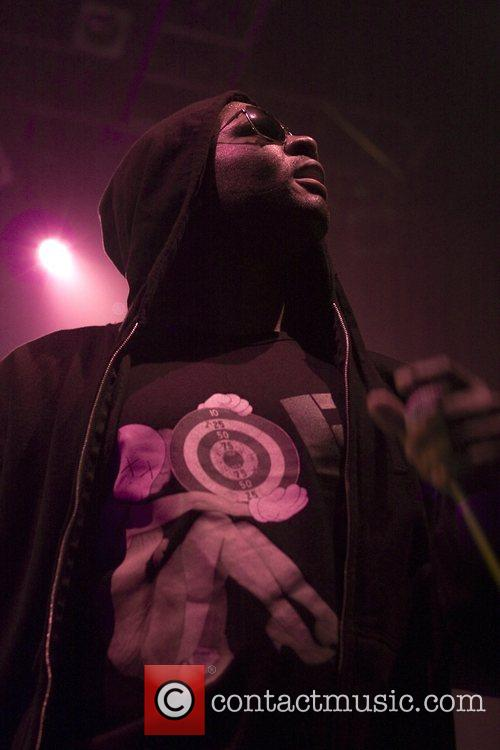 Shae Haley of N.E.R.D.  performing at the...