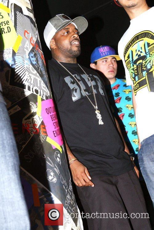 Jermaine Dupri perfroms with N.E.R.D at Paper Magazine's...