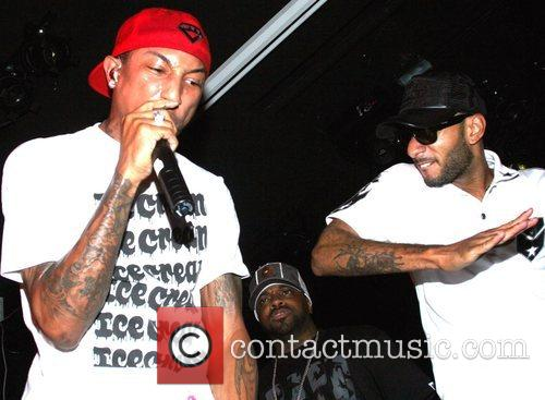Pharrell Williams and Swizz Beatz 7