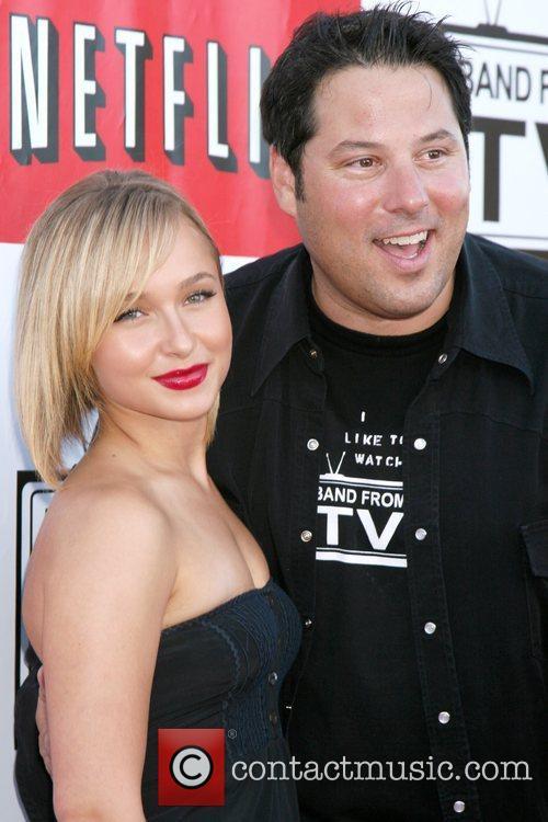 Hayden Panettiere & Greg Grunberg  'Netflix Live!'...