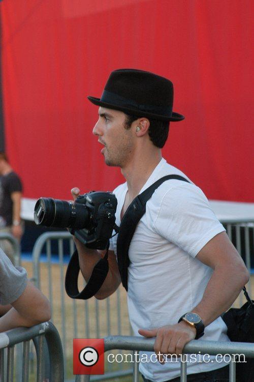 Milo Ventimiglia 'Netflix Live!' presents Band From TV...