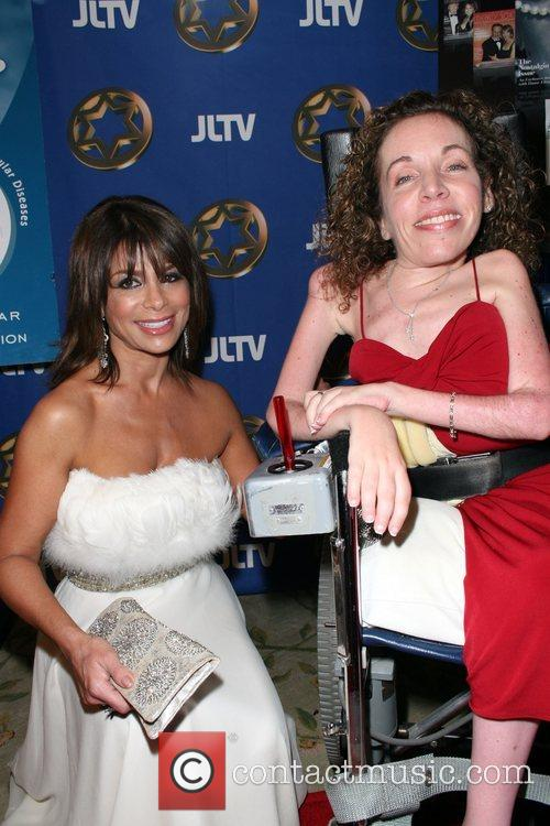 Paula Abdul and Guest Spring Gala Dinner and...