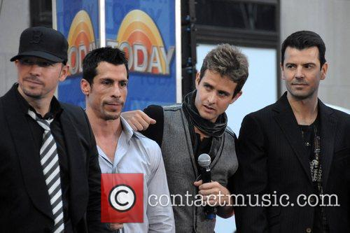 New Kids On The Block, Danny Wood, Joey Mcintyre and Jordan Knight 5