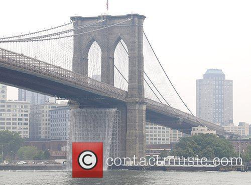 Launch of 'The New York City Waterfalls' by...