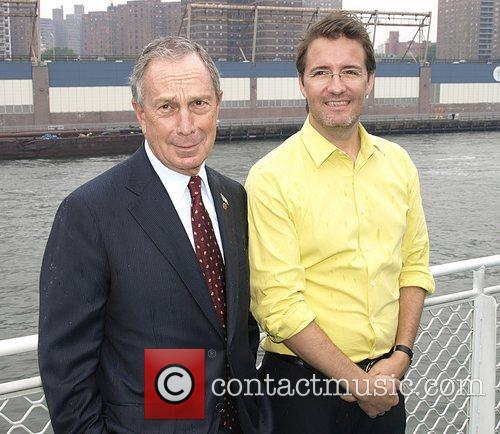 Mayor Michael Bloomberg and Olafur Eliasson Launch of...