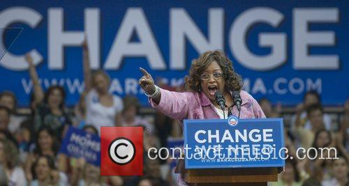 Speaks at the Barack Obama for President, Change...