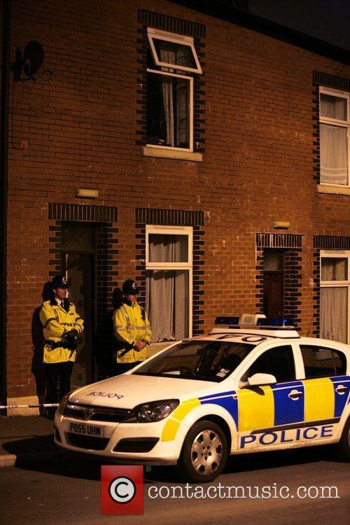 Three men were arrested on suspicion of terror...