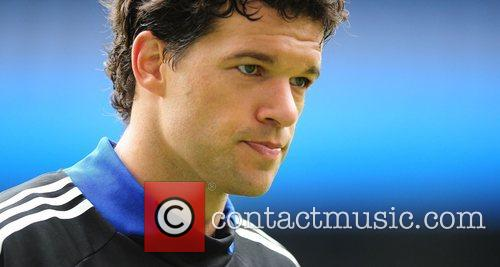 Michael Ballack  Chelsea open training session at...