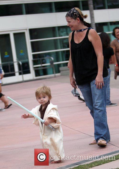 Thousands of comic book fans attend Comic-Con 2008...