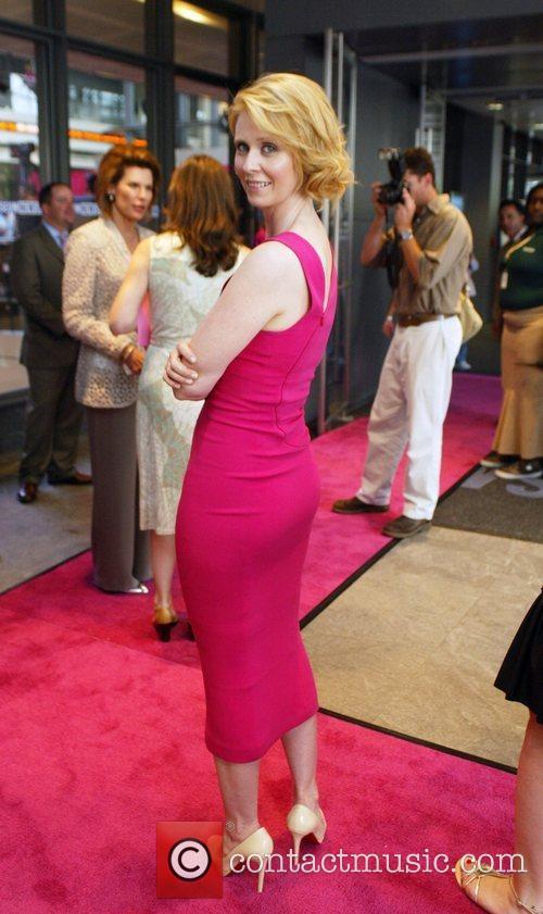 Cynthia Nixon attends the 2008 Susan G. Komen...