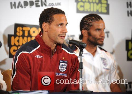 Rio Ferdinand, David James and players from the...