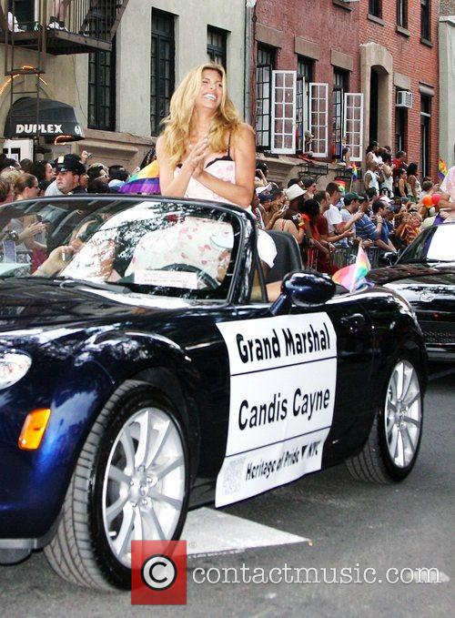 Candis Cayne 39th Annual Gay Pride Day March...