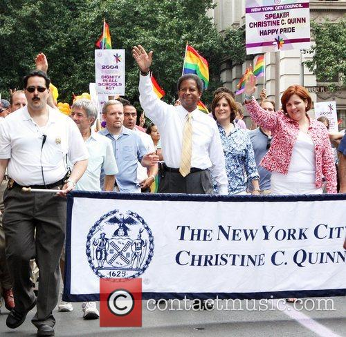 Christine Quinn 39th Annual Gay Pride Day March...