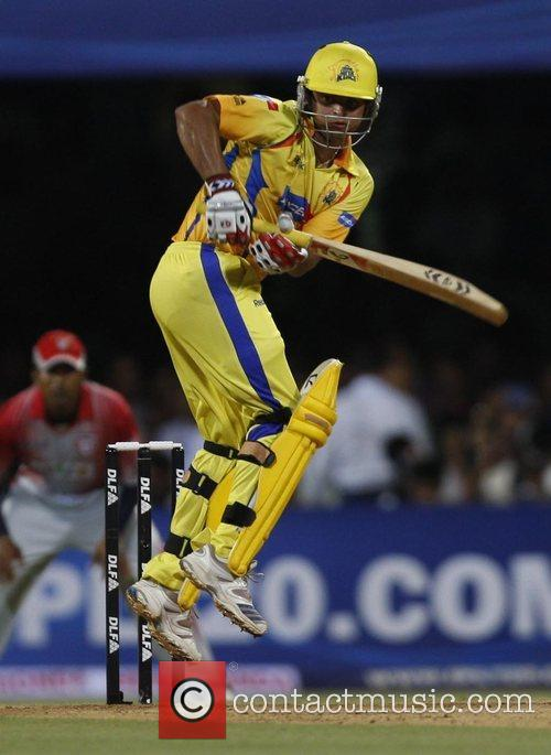 Suresh Raina player of Chennai Super Kings' during...