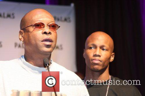 Final press conference for Zab Judah and Josh...