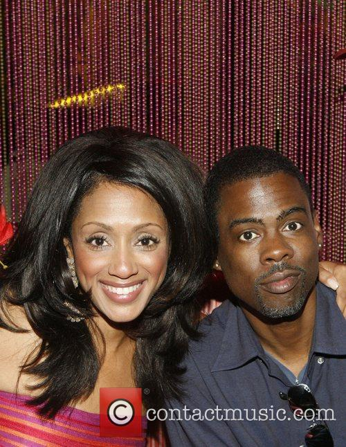 Malaak Compton Rock and Chris Rock 4