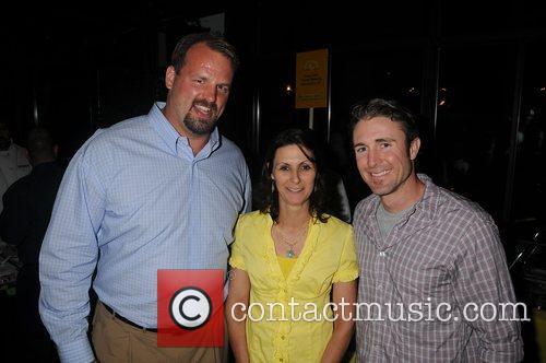 Jon Runyan, Liza Scott, Chase Utley 3rd Annual...