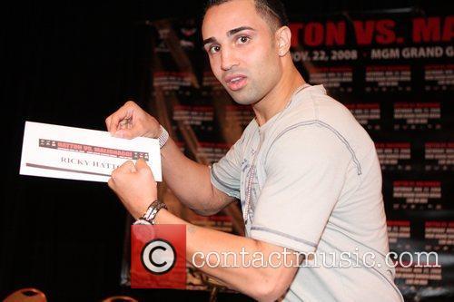 Paulie Malignaggi vs Ricky Hatton press conference at...