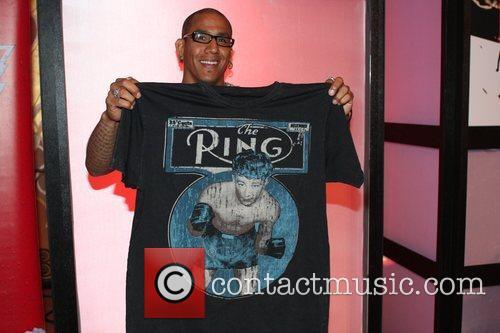 Tom Atencio owner of Affliction Paulie Malignaggi vs...