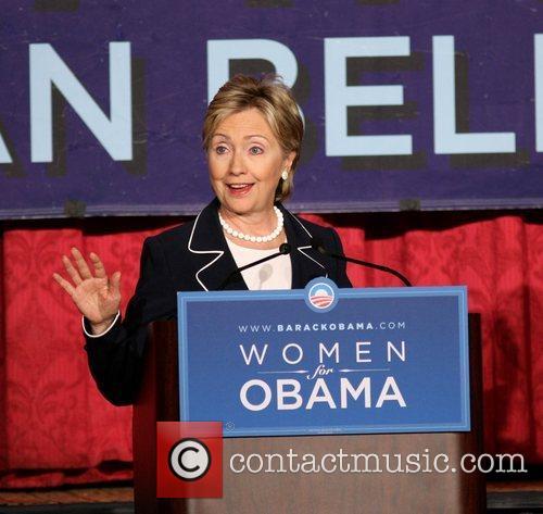 Senator Hillary Clinton speaks at the 'Women for...