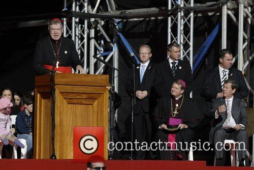 Cardinal George Pell, Archbishop of Sydney Before returning...