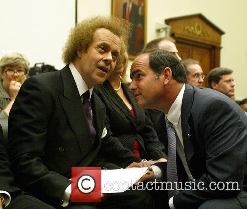 Richard Simmons and US Congressman Zach Wamp Richard...