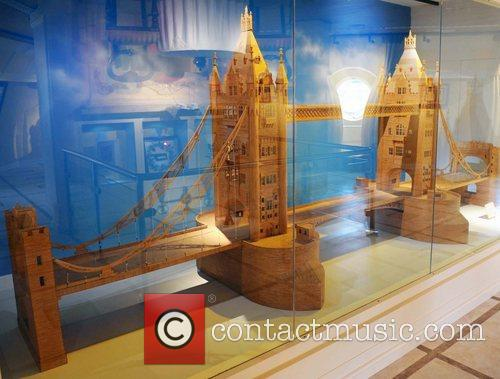 4 meter long model of Tower Bridge made...