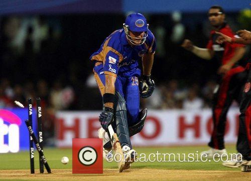 Graeme Smith  player of Rajasthan Royals takes...