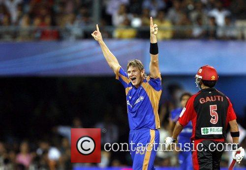 Shane Watson (without cap)  player of Rajasthan...