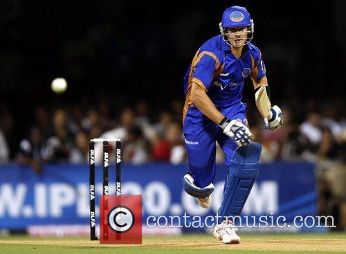 Shane Watson  player of Rajasthan Royals plays...