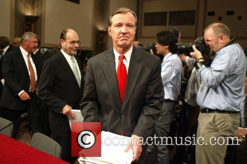 U.S. Securities and Exchange Commission Christopher Cox during...