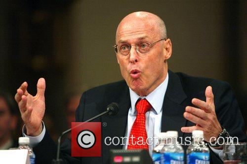 U.S. Treasury Secretary Henry Paulson during a hearing...