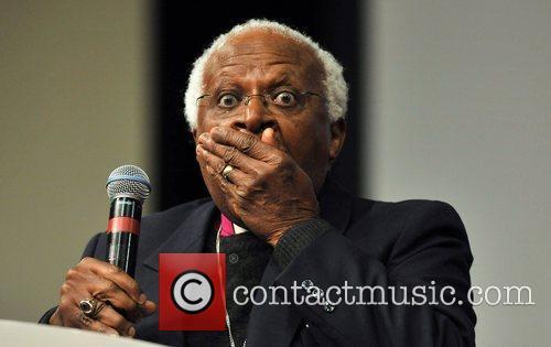 Archbishop Desmond Tutu addresses church leaders to do...
