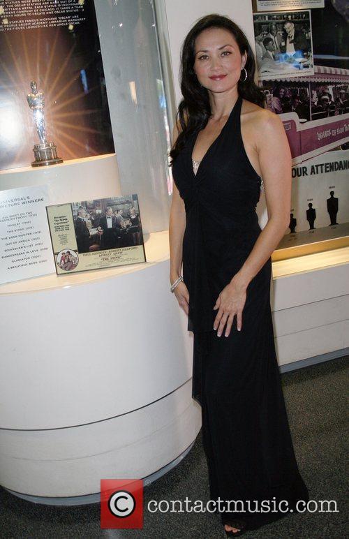 Model Sandra Allen  stands by the Best...