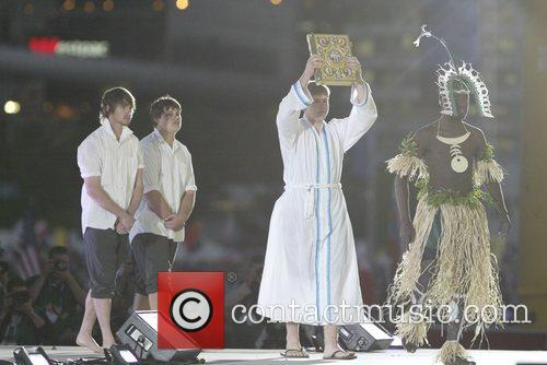 The Opening Mass of World Youth Day 2008...
