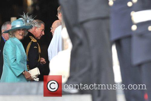 Camilla, HRH The Duchess of Cornwall Arrivals at...