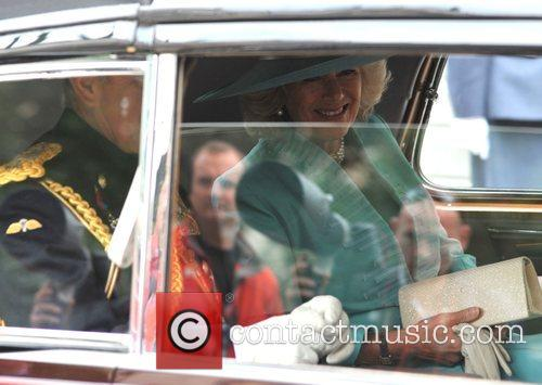 Camilla, The Duchess of Cornwall Arrivals at St...