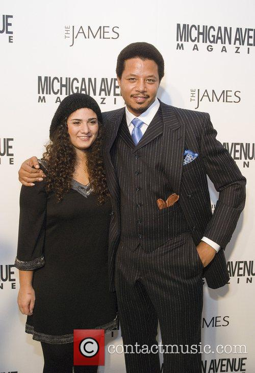 Terrence Howard and Cindy Crawford 8