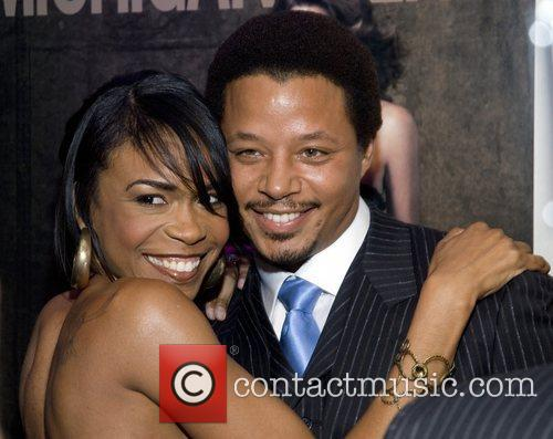 Terrence Howard and Cindy Crawford 1